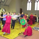 Dancing with monks