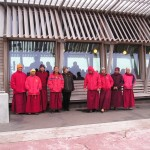 Monks on Deal pier