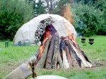 Sacred sweat lodge